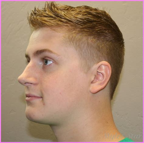 haircut fade white boy a fade haircut on white boy stylesstar com