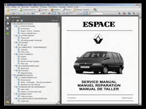 Renault Espace Manual Renault Espace Ii Manual De Taller Workshop Manual