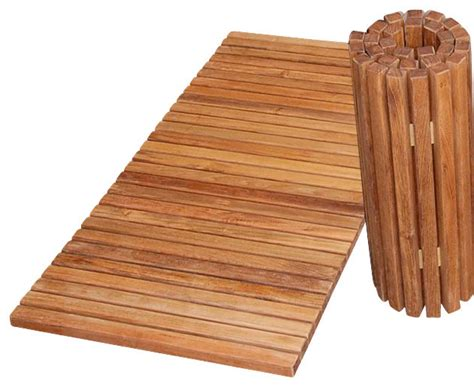 teak bathroom mat teak folding shower mat tropical bath mats by