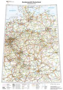 road map of germany road map of germany