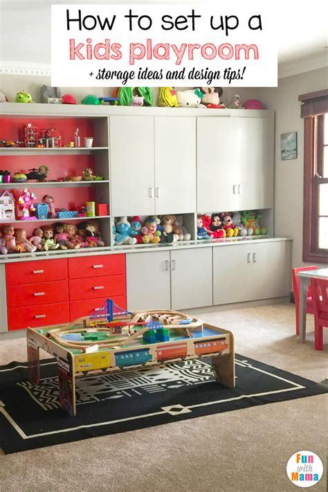 kids playroom ideas  toy room tips fun  mama