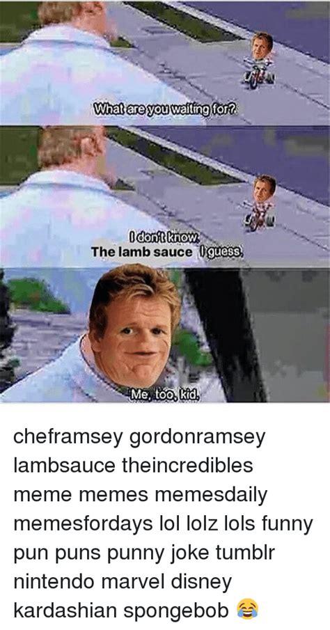 waiting fortc dont   lamb sauce