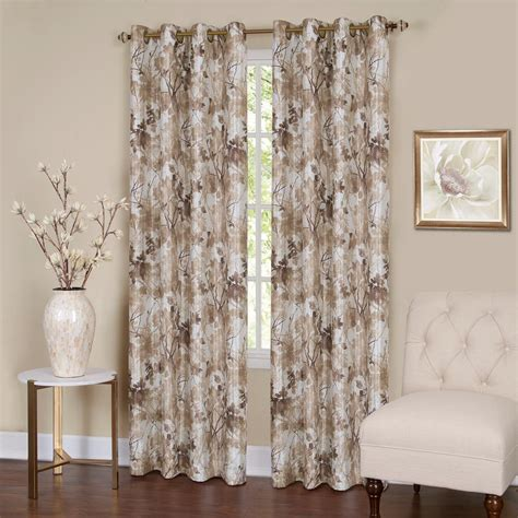 Achim Tranquil 63 in. L Grommet Window Curtain Panel in