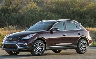 Who Drives Infiniti Infiniti Qx50 Compact Crossover Returns For 2017 With