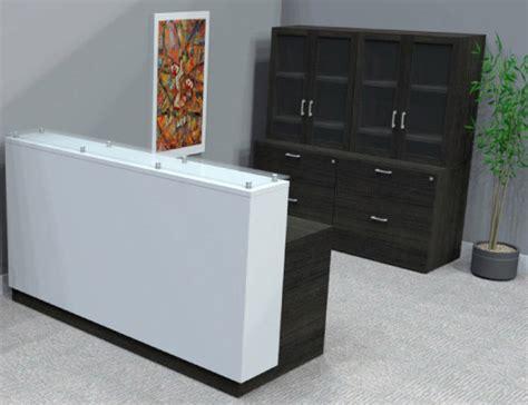 custom reception desks custom reception desks solid walnut reception desk bay