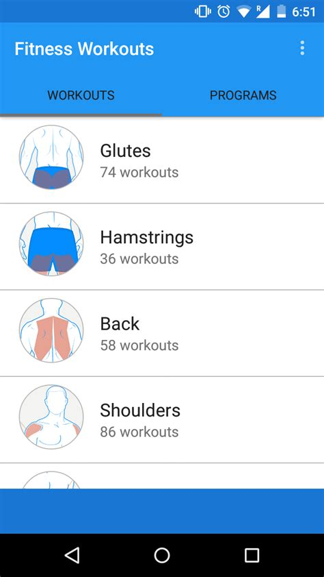 android review fitness workouts android review