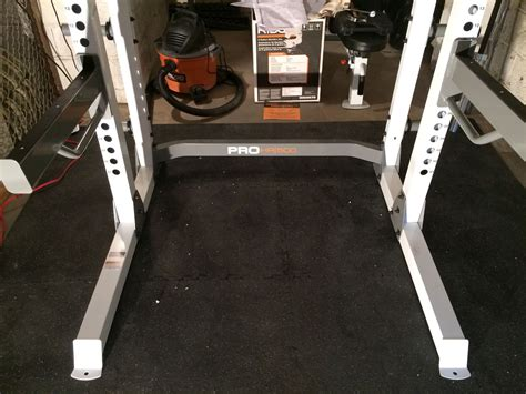 Fitness Gear Pro Rack Review by Project Building A Home Squatting Benching