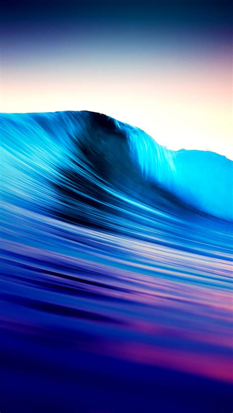 surreal surf wave ios iphone  wallpaper hd