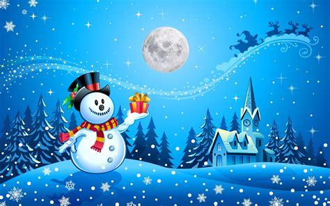 christmas snowman happy holiday  kids electronic card hd wallpaper  wallpaperscom