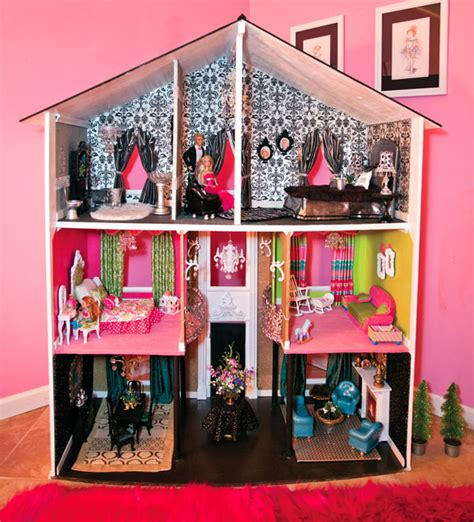 custom doll house d i y dollhouses 417 magazine may 2014
