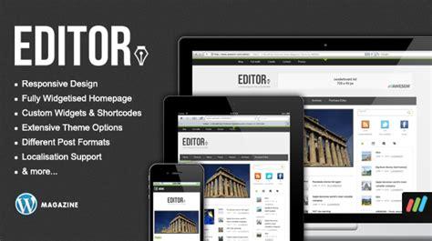 editor themes editor responsive premium wordpress news magazine
