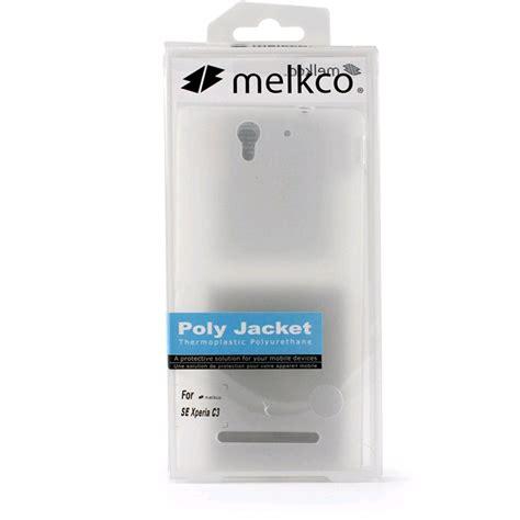Melkco Poly Jacket Sony Xperia V Black melkco poly jacket tpu for sony xperia c3 with screen protector transparent mat