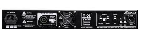 Taurus T Di Mk2 Bass Pre 1 taurus bass lification black line silver line thd 450 t pre light weight lifier