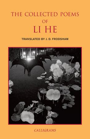collected poems the penguin the collected poems of li he penguin random house canada