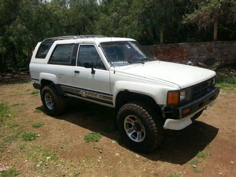 vintage toyota 4x4 1986 toyota 4runner 4x4 22re south