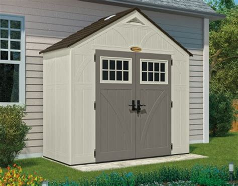tremont  shed kit suncast resin shed