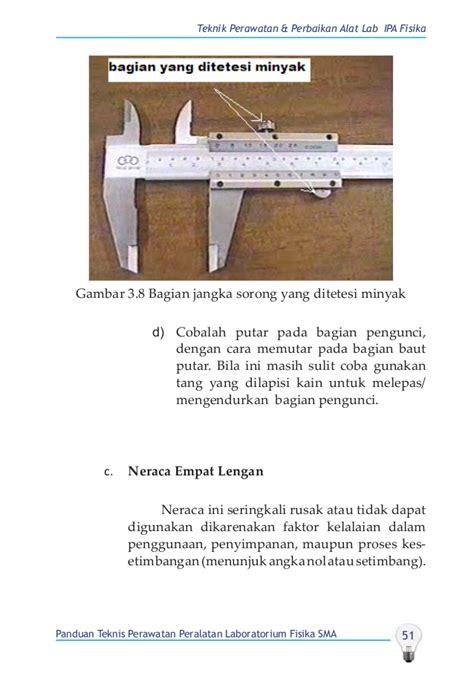 Termometer Fisika buku perawatan alat lab fisika