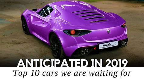 top  anticipated sports cars    models
