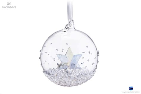 swarovski crystal christmas ball ornament annual edition 2014