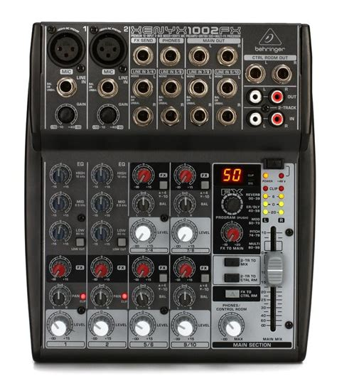 Mixer Xenyx 1002fx behringer xenyx 1002fx mixer with effects sweetwater