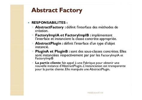 prototype pattern with abstract factory softcours design pattern m youssfi partie 9 creation des