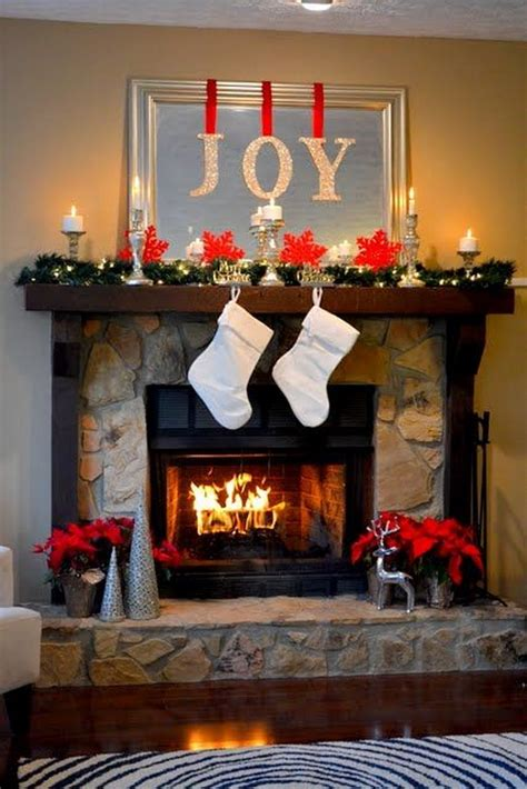 how to decorate a fireplace for christmas 25 gorgeous christmas mantel decoration ideas tutorials