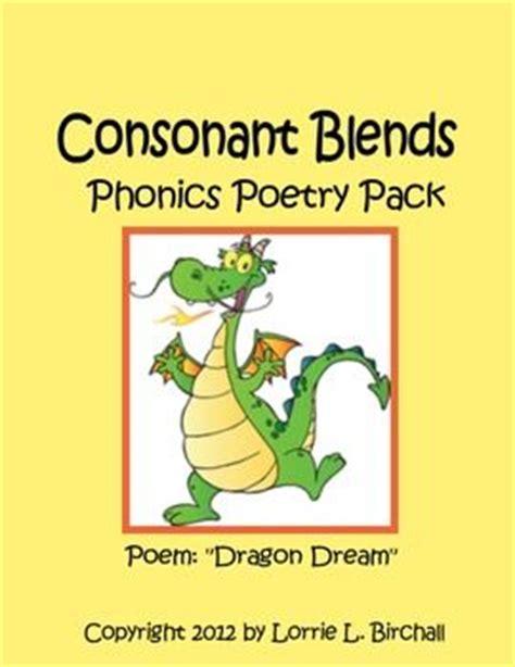 consonant blends phonics and poem on