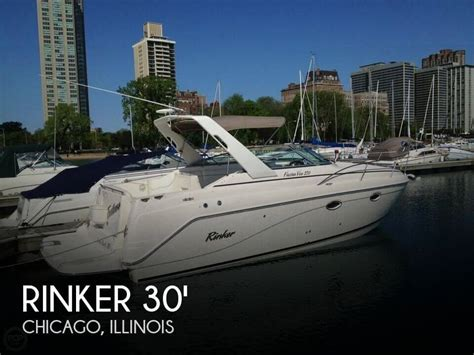 motor boats for sale chicago for sale used 2004 rinker fiesta vee 270 in chicago