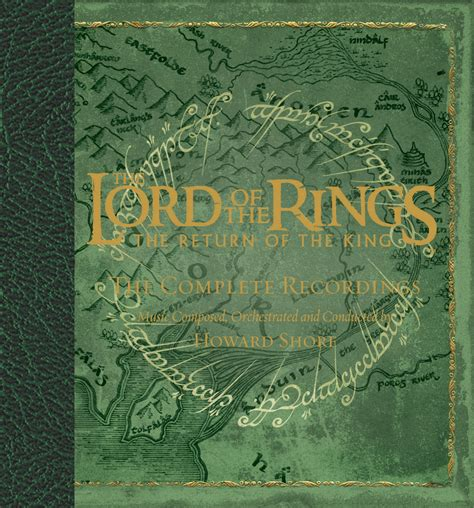 dafont lord of the rings cd the complete recordings the lord of the rings