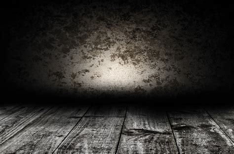 dark wall wooden floor and old wall free stock photo public domain