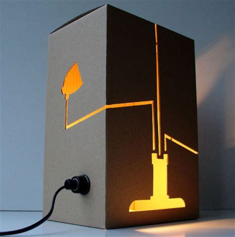 diy home lighting design creative cardboard hanging floor table l designs