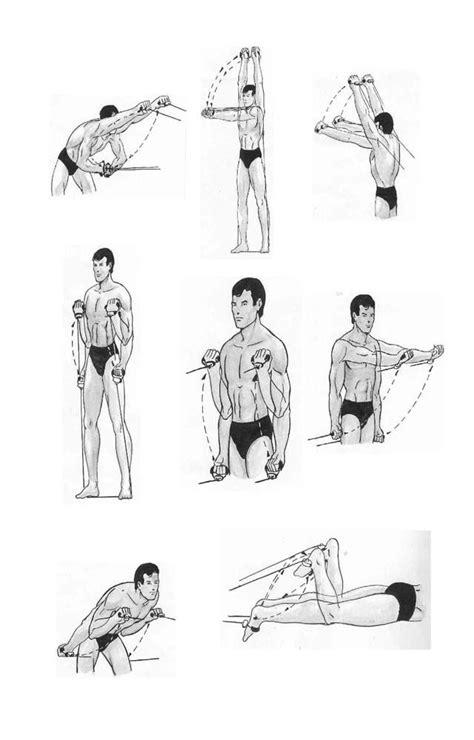 Rutina con liga para fortalecer nadadores | Ejercicios con