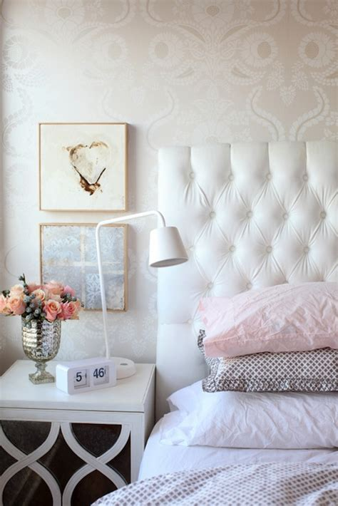 pretty wallpaper for bedroom gray damask wallpaper contemporary bedroom emily