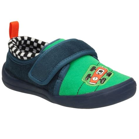 clarks infant slippers clarks cuba pace infant boys race car slippers charles