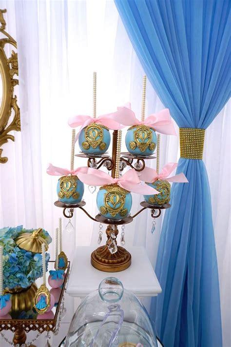 cinderella themed decorations kara s ideas godmother cinderella birthday