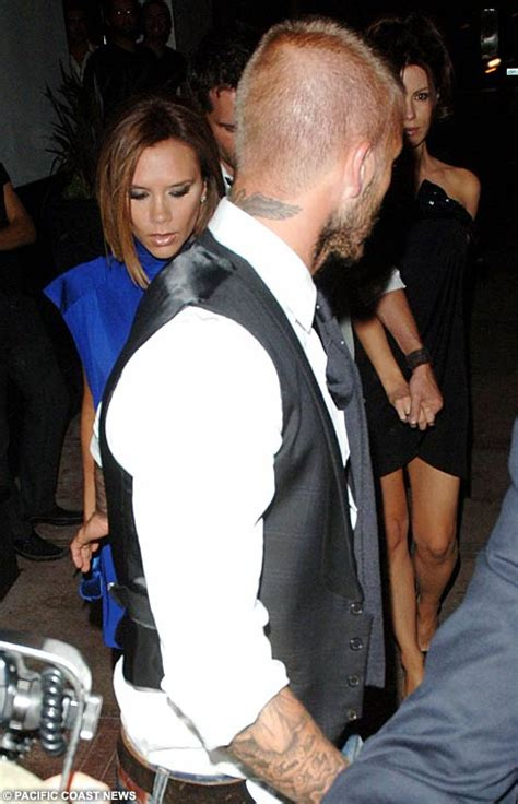 The Beckhams Date With Kate Len by Posh And New Best Friends Kate And Dine Out Ahead Of
