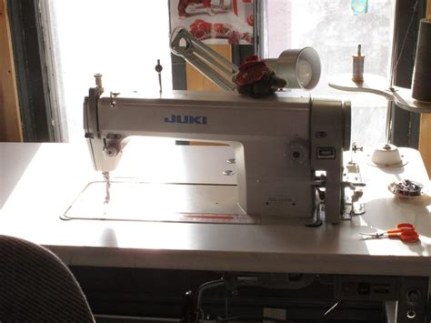 industrial commercial sewing machine  leather