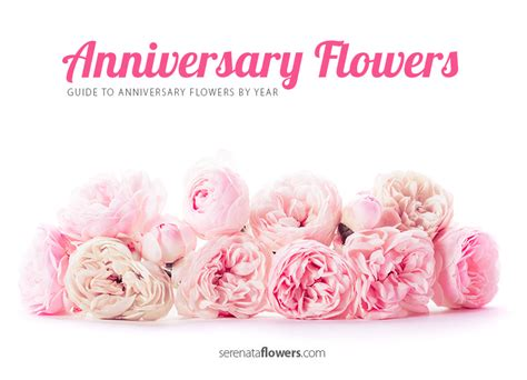 Anniversary Flowers by Anniversary Flowers By Year