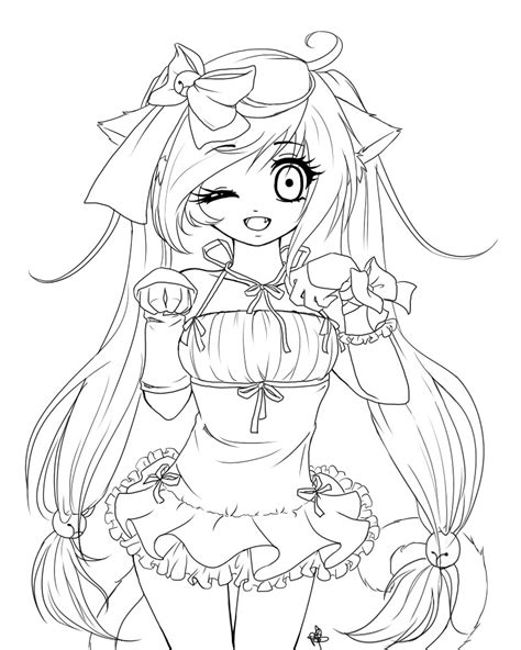 anime coloring sheets anime wolf coloring pages coloring pages for children