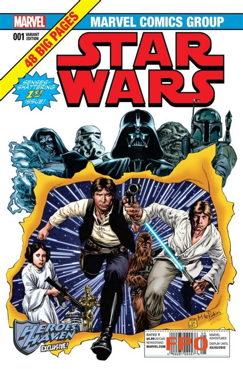 Comic Books In Wars X wars 1 variant covers