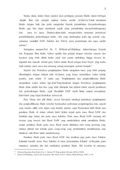Sejarah Pengantar Ilmu Hadits 1 sejarah hadits