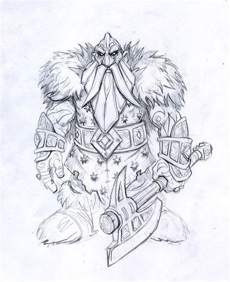 D Sketches by New Wotlk Screenshots And Artworks