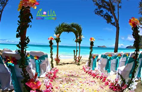 hawaiian weddings wedding on oahu