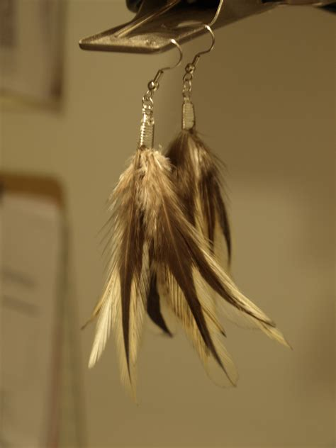 Quick and Easy DIY Feather Earrings   See Cate Create