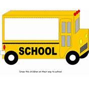 School Bus Activity Sheet