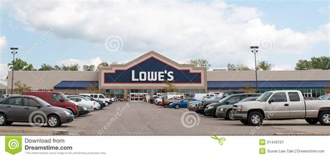 lowe s home improvement center editorial photo image