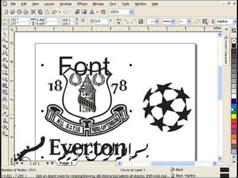 tutorial desain grafis lengkap belajar desain grafis font dan karakter tutorial pemula