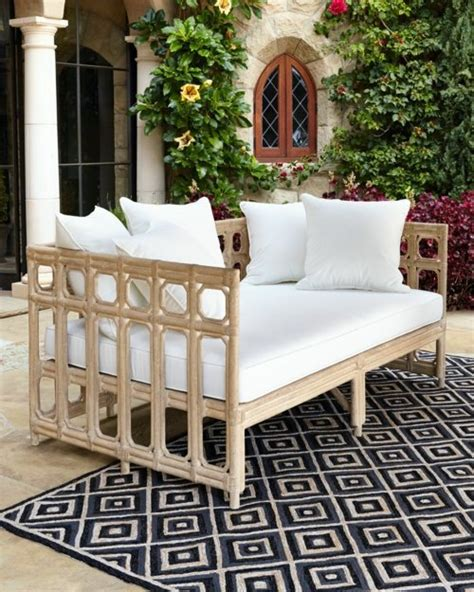 modern cool garden furniture from horchow for the patio