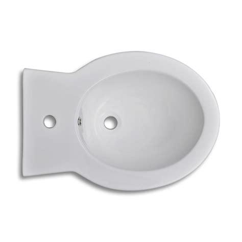 bidet set vidaxl co uk stand toilet bidet set white ceramic