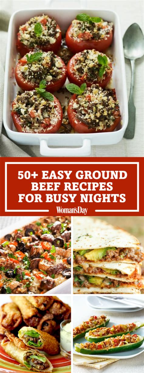 easy ground beef dinners holiday time savers recipe 55 easy ground beef recipes healthy recipes with ground beef